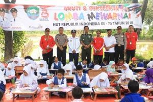 Memeriahkan Hut Ri Ke 73 Kapolres Abdya Hadir Dalam Acara Lomba Mewarnai Tingkat Taman Kanak Tk Dan Sekolah Dasar Sd Se Kab Abdya Tribrata News Polres Aceh Barat Daya
