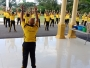 Kapolres Aceh Barat Daya Pimpin Olahraga Pagi